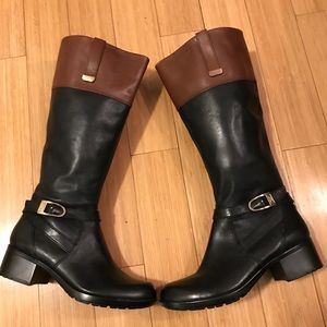Brand new black and brown Bandolino boots